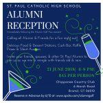 Alumni Reception invite