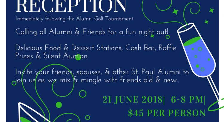 Alumni Reception invite