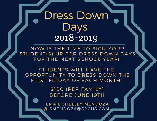 Dress Down Dayschris