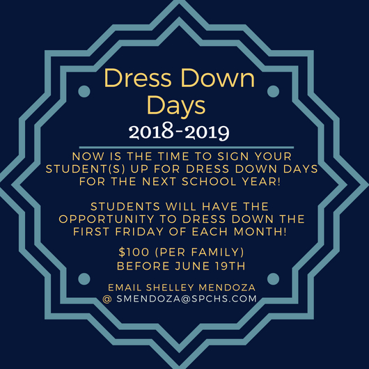 Dress Down Dayschris