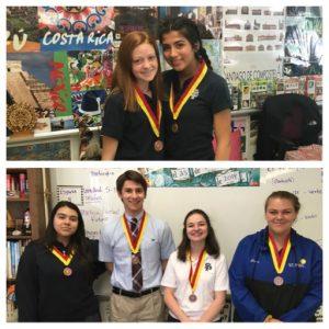 National Spanish Exam Award Earners – CLICK HERE – St  Paul Catholic